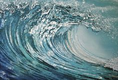 Azure 168cm x 102cm painting on canvas