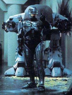 Behind the scenes with Robocop part 1 bad guy: ED 209 (54 Photos)