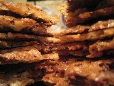 MILK CHOCOLATE FLORENTINE LACE COOKIES