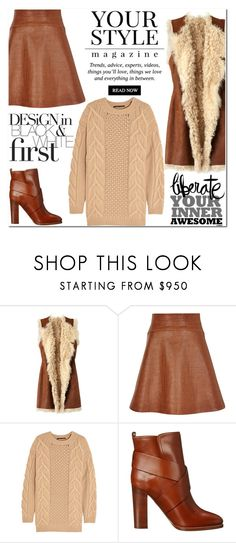 """Bez naslova #2760"" by kristina-krizanec ❤ liked on Polyvore featuring Figue, Temperley London, Agnona, Ralph Lauren Collection and Pussycat"