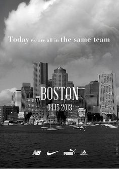 Acción de las marcas deportivas para apoyar a Boston