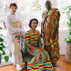 Multicultural Australian Wedding with Ghanaian-Japanese Bride | Boris & Akos | Kente