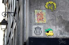 Gz'Up Parisian street art Paris Street Art Photo copyright 2012 Demian Smith