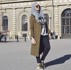 Mariammoufid #hijabfashion