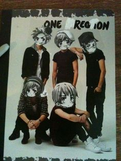 Hey Directioners, look what I did with your boys: I made them beautiful.<< From 100% gay to 500000000% gay.< THAT