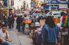 Sensory Saturation in NYC's Chinatown