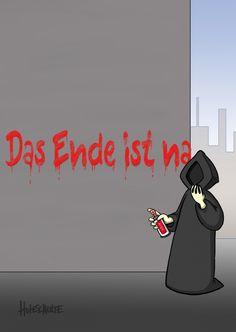 Das Ende | Tot aber lustig | Echte Postkarten online versenden | Michael…