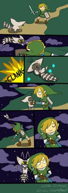 Zelda: Remlits by ~Kilala04 on deviantART That thing was cute but evil