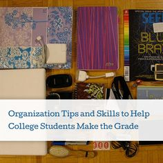College Organization Tips To Help You Make the Grade