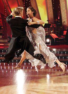 DWTS Season 6 Spring 2008 Shannon Elizabeth and Derek Hough