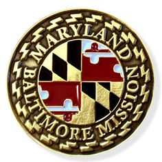 Maryland Baltimore LDS Mission Pin