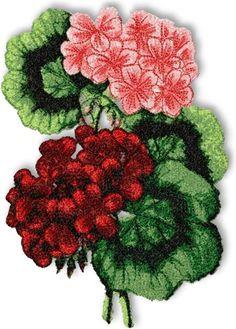 Advanced Embroidery Designs - Geranium