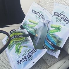 Buckle up! @crysteena is going to better-for-you snack town with her favorite Harvest Snaps! Thanks for the pic!