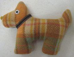 Sprout Handmade Toys - Handmade Toys, Wool Blanket, Creative Ideas, Repurposed, Blankets, Dinosaur Stuffed Animal, Recycling, Textiles, Animals