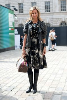 Lo#fashion-ivabellini ndon Fashion Week Street Style