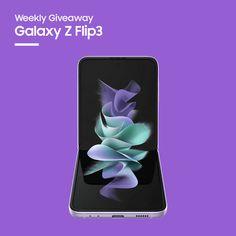 Sorteio de um Galaxy Z Flip 3 Smartphone, Prize Draw
