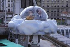 """L' ecume des jours or English translated to """"Froth on the Daydream"""" depicts an off-the-wall romance between a whimsical Parisian pair. The film entails a few off-beat events that may have viewers momentarily unsure or upset but nonetheless in love with its experimental approach."""