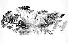 Contemporary drawing now: Abdelkader Benchamma