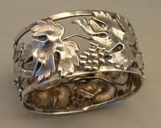 Image result for silver napkin ring