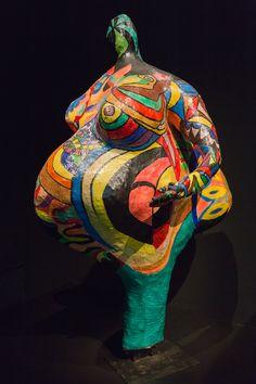2014/10/10 17h55 Niki de Saint Phalle, «Elisabeth» (1965) | Exposition Niki de Saint Phalle, Grand Palais (Paris)
