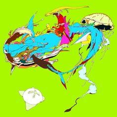 因幡の白兎 - WHITE HARE OF INABA Art Print by Kasi Minami | Society6