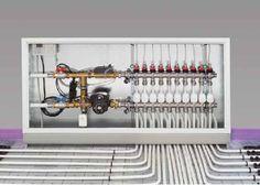 Cofloor Flächenheizungs und -kühlungssystem - ais-online.de Hydronic Heating, Underfloor Heating, Home Heating Systems, Radiant Floor, Modern Office Design, Home Tech, Bathroom Plumbing, Radiant Heat, Gothic Home Decor