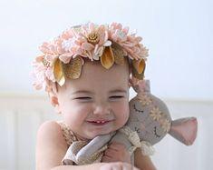 MABEL DAISY CROWN// full felt flower crown headband // felt flower accessories for a whimsical childhood