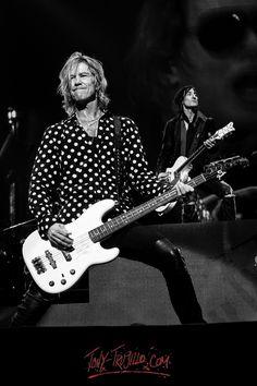 Duff McKagan of Guns N' Roses, T-Mobile Arena, Las Vegas, April 2016 - Photos by Tony Trujillo