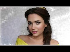 Belle (Beauty and The Beast) Makeup Tutorial - Lovely! Helpful for a pretty day look too.