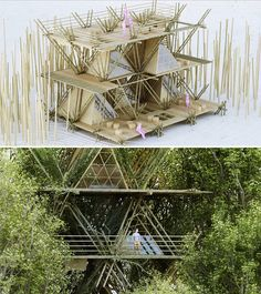 Penda's Fastener-Free, Re-usable Bamboo Structural System
