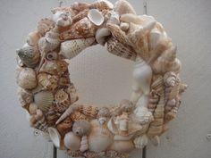 Sea Shell Wreath   Beach Wreath   Sea Shore Decor  by donnahubbard, $65.00