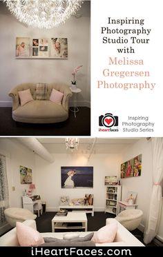 Tour Melissa Gregersen's Inspiring Portrait Studio (I Heart Faces) Photography Backdrops, Photography Tutorials, Portrait Studio, Backdrop Ideas, Photo Tips, Creative Inspiration, Home Office, Amazing Photography, Faces