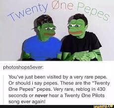 Fight me you scrub I will listen every day.<<<I only harvest the rarest and the dankest of pepes. Pretty rare