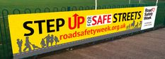 Brake founded and runs Road Safety Week as an annual event to stimulate community involvement in promoting road safety awareness year-round. Safety Week, Safety Awareness, November, Banner, Community, November Born, Banner Stands, Banners