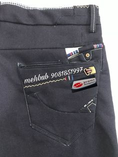 Denim Jeans Men, Boys Jeans, Patterned Jeans, Pocket Pattern, Club Dresses, Java, Joggers, Trousers, Womens Fashion