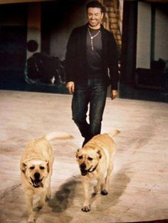 George Michael and his babies