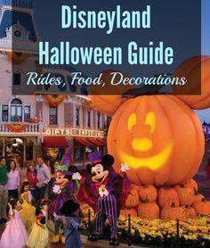 disneyland halloween guide