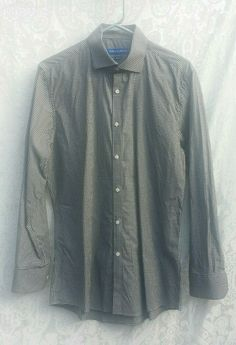 NWT CUBAVERA Button Down NAVY Mens Scotchgard Work Shirt XL NEW WITH TAGS