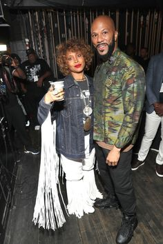 Common Photos - Erykah Badu and Common attend Black Girls Rock 2019 Hosted By Niecy Nash at NJPAC on August 2019 in Newark, New Jersey. - Black Girls Rock 2019 Hosted By Niecy Nash - Backstage Celebrity Couples, Celebrity Photos, Celebrity Style, Black Girls Rock, Black Love, Neo Soul, Toni Braxton, August 25, Famous Couples