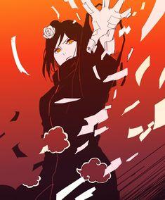 Konan, by Pixiv Id 5697311 Anime Naruto, Naruto Shippuden Sasuke, Naruto Girls, Naruto Shippuden Characters, Sakura E Sasuke, Naruto Fan Art, Naruto And Sasuke, Itachi Uchiha, Anime Characters