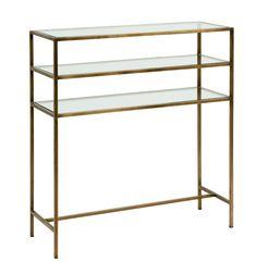 Sidobord - Guld/Glas – Köp möbler och inredning på Reforma Sthlm | | |