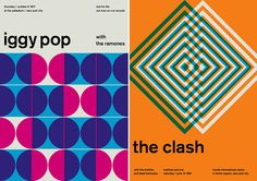 7 | Check Out These Vintage Rock Posters, Remixed With Swiss Modernism | Co.Design: business + innovation + design