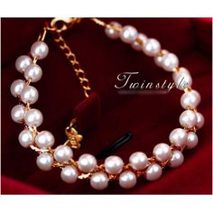 Butterfly Pearl  Bracelets Fashion Jewelry Wholesale China Jewelry  OL Shine Chain
