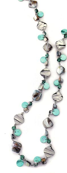 Ocean Air necklace by lia sophia. Have and LOVE!!
