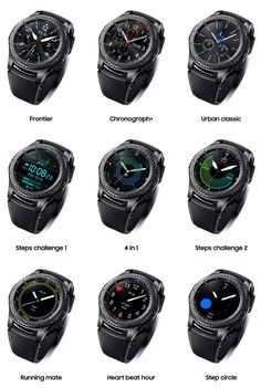 Samsung Gear Watch Has Better Features & Performance - Stylish Watches, Cool Watches, Watches For Men, Wearable Technology, Technology Gadgets, Smartwatch, Future Gadgets, Samsung Gear S3 Frontier, Fitness Watch