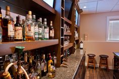 Custom Bar Custom Builders, Custom Homes, Liquor Cabinet, Living Spaces, Commercial, Bar, Furniture, Home Decor, Decoration Home