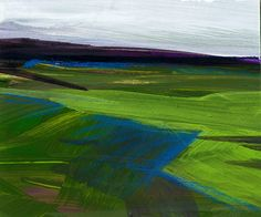 Journey... No.023 ... Original abstract landscape by Kathy Morton Stanion