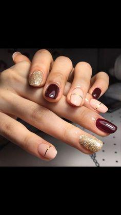 #Acrylic nails rounded