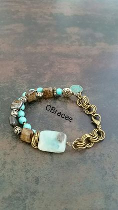 Turquoise&Bronzite&Brass for sale! mail to cbracee@gmail.com