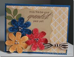 I stumbled on the inspiration for this card while I was browsing Pinterest/fancymelissa (it's a new addiction, if you need an invite leave me a comment).&